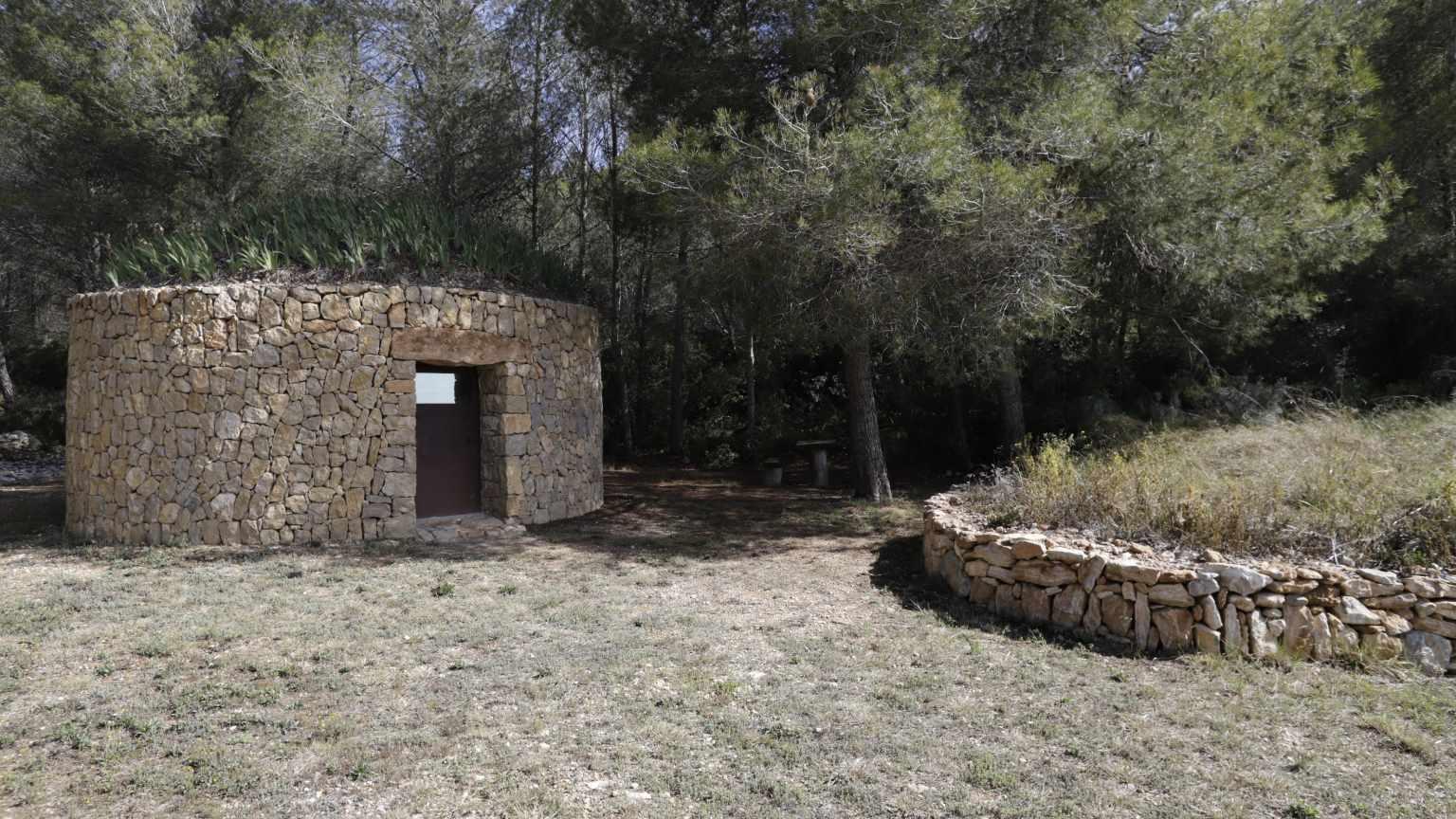 Exterior Barraca Rossellet (Barraca entre Vinyes).